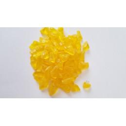 Skleněná drť žlutá